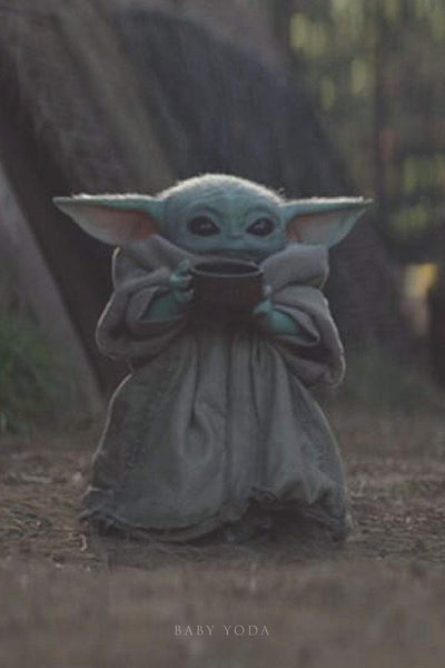 Baby Yoda: Writing Journal • Notebook • Diary • Notepad