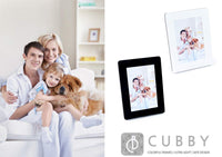 5x7 Colorful Safe Design Cubby Ultra Light Pictures Frame (Blue)