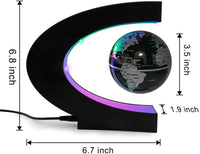 MOKOQI Magnetic Levitation Floating Globe Mysteriously Suspended in Air World Map for Desk Decoration Great Fathers Students Teacher Birthday for Men