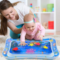 MAGIFIRE Tummy Time Baby Water Mat Infant Toy Inflatable Play Mat for 3 6 9 Months Newborn Boy Girl