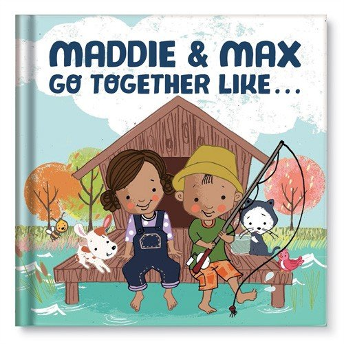 Personalized Book for Siblings or BFF Gift for Best Friends
