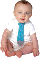First Wearable Baby Teething Bib Tie (mom-Invented & Patented), Baby Boy Gifts, Baby Shark, Baby Tie