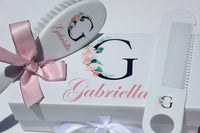 Personalized Baby Gift - Baby Brush and Comb Set, Suitable for Ages 0-3 Years, New Baby Gift