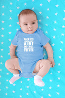 CBTwear Back Off! I Have A Crazy Aunt - I'm Aunt's Favorite - Cute Infant One-Piece Baby Bodysuit