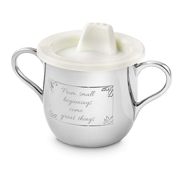 Things Remembered Personalized Silver Safari Animal Sippy Cup with Engraving Included