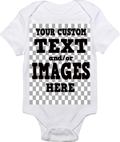 Baby Bodysuit - Custom Personalized with Your Text and/or Images Baby Clothes