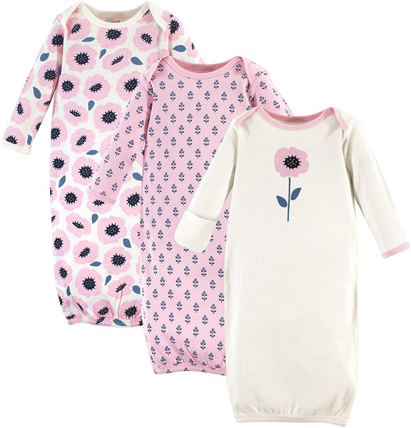 Touched by Nature Baby Girls' Organic Cotton Gowns