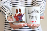 Pretty Phoxie Mom Gifts - Best Friend Mug - Custom Gifts - Personalized Mug For Best Friend - Long Distance Gift - Christmas Gift - Best Friend Gifts