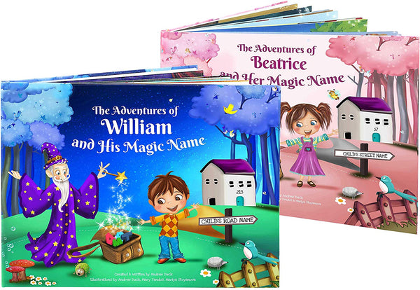 My Magic Name Personalized Children's Story Book - Every Book is Unique and Custom Made for Kids