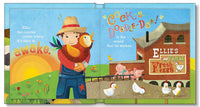 Baby Farm Animals Personalized Storybook for Children, Toddlers, Custom Name Book for Kids