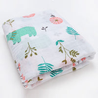 Fashionable Cotton Baby Blankets Newborn muslin Baby Swaddle Wrap Soft Infantil Receiving Blanket baby bed Stroller Accessories