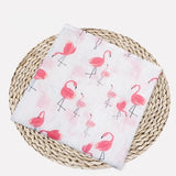 Muslin 100% Cotton Baby Swaddles Soft Multifunctional Newborn Blankets Bath Gauze Infant Wrap Sleepsack Stroller Cover Play Mat