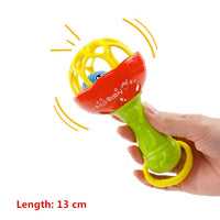 NEW Baby Rattles Toys Newborn Hand Bells Baby Toys 0-12 Months Teething Safe Development Infant Early Sensory Toys