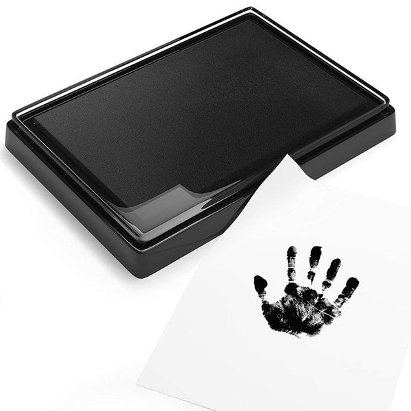 Baby Hand Foot Ink Hand Foot Print Handprint Oil Souvenir Child Safe Ink Pad Non-Toxic Baby Footprint Kit Keepsake Gift In Stock