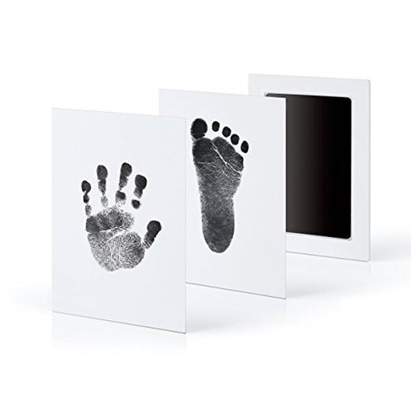 Baby Footprints Ink Pads Cats Paw Pets Care Non-toxic Dogs Paw Print Pad Handprint Pads for Shower Inkless Mess Baby Toys Gifts