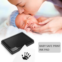 Baby Hand Foot Ink Hand Foot Print Handprint Oil Souvenir Child Newborn Hundred Days Gift Safe Ink Pad Baby's Memories