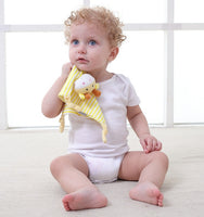New Soft Appease Towel Baby Toys Soothe Reassure Sleeping Animal Blankie Towel Educational Rattles Clam Toy Bebes Toys Doll