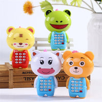 Kid Boy Girl Baby Toys 0-36 Months Baby Educational Toy Cartoon Music Lights Up Mobile Phone Shape Baby Gifts