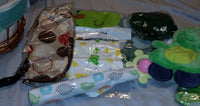 """Great Baby Gift ! ""CARTERS"" DINOSAUR THEMED  Baby Gift Basket"