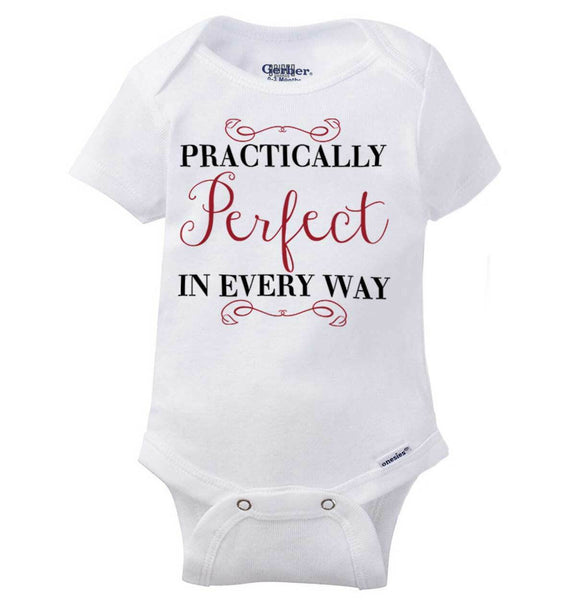 Perfect In Every Way Gerber Onesie | Adorable Cute Pretty Gift Baby Romper
