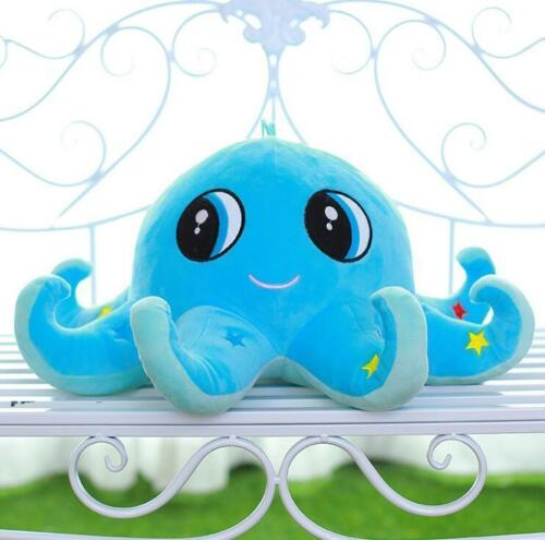 "23 "" BLUE 4 Size Octopus Baby Plush Stuffed Animals Doll Soft Toy Novel Gift sz"