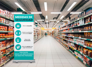 Roll up - Medidas de seguridad Covid19 LowPrint