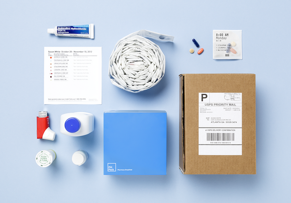 Contents of PillPack shipment