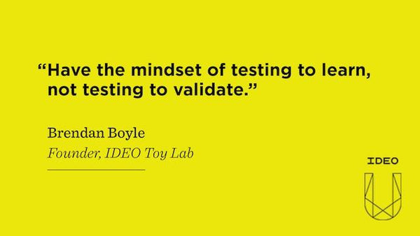 Testing to Learn with Brendan Boyle