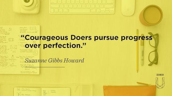 Pursue Progress Over Perfection