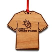 Load image into Gallery viewer, T-Shirt Wood Christmas Ornament