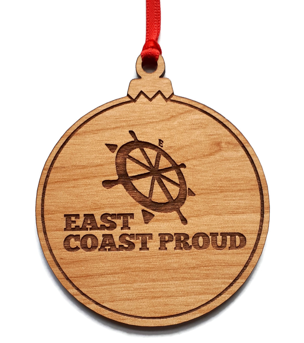 East Coast Proud Christmas Bulb Ornament