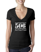 Load image into Gallery viewer, 506 New Brunswick - East Coast Proud Ladies V-Neck