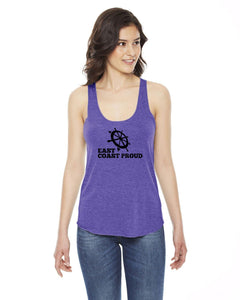 East Coast Proud - Ladies Racerback Tank