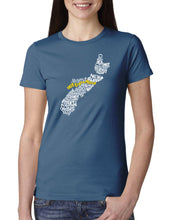 Load image into Gallery viewer, Nova Scotia Map - East Coast Proud Ladies T-Shirt