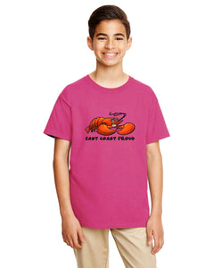 YOUTH - East Coast Proud Liam The Lobster T-Shirt