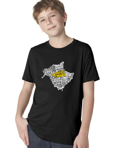 New Brunswick Map - East Coast Proud YOUTH T-Shirt