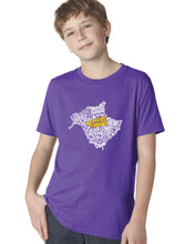 Load image into Gallery viewer, New Brunswick Map - East Coast Proud YOUTH T-Shirt