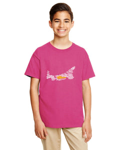 PEI Map - East Coast Proud YOUTH T-Shirt