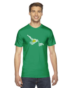 Newfoundland & Labrador Map - East Coast Proud T-Shirt