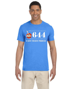 2Papas - 644 East Coast Proud Doughboys T-Shirt