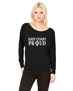 East Coast Proud - Nova Scotia Coat of Arms Ladies Long Sleeve Shirt