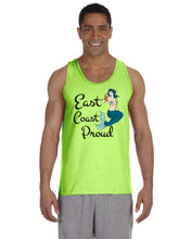 Load image into Gallery viewer, East Coast Proud - Mermaid Beer Tank Top