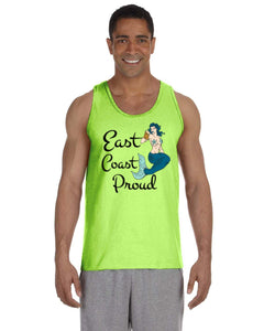 East Coast Proud - Mermaid Beer Tank Top