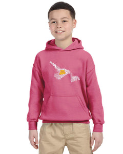 East Coast Proud - Newfoundland & Labrador Map YOUTH Hoodie