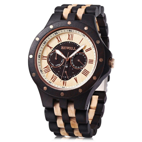 Waterproof Fashionable Wooden Watch