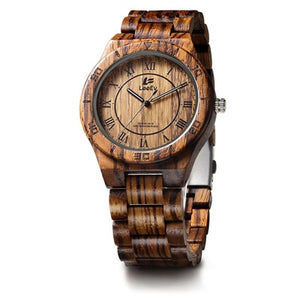 Fashionable Men's Bamboo Wooden Watch
