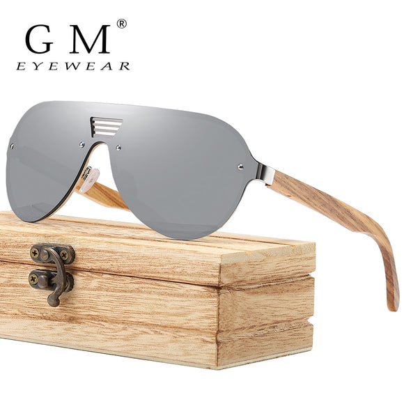 Fashionable Wooden Sunglasses with Wooden Case