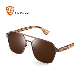 Polarised Wooden Sunglasses