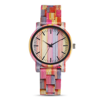 Colourful Stylish Wooden Watch