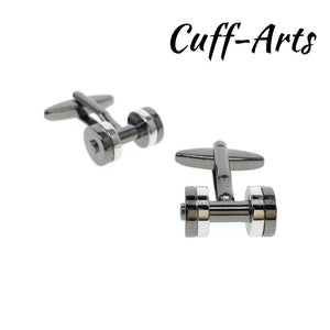 Cufflinks for Men Weight Lifters Cufflinks Mens Cuff Jewelry Mens Gifts Vintage Cufflinks by Cuffarts C10300